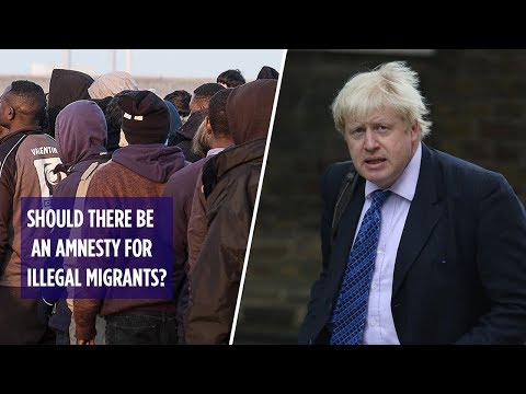 Should there be an amnesty for illegal migrants?