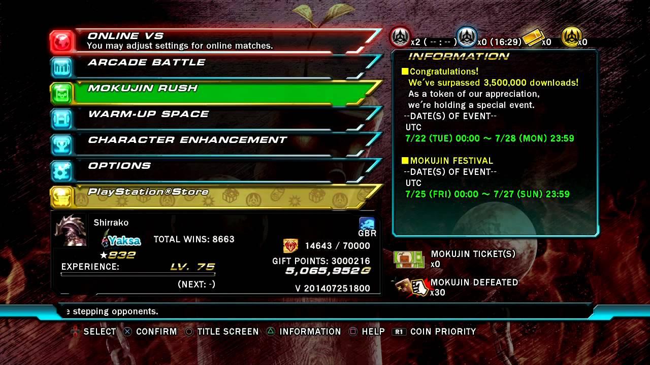 Tekken Revolution - 3 Million Gift Points - YouTube