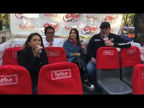 Lali Esposito en El transporting de OYE | Oye 89.7 FM - Mexico
