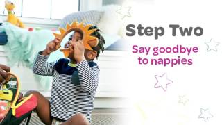 Huggies Pull-Ups 6 Steps to Potty Success!