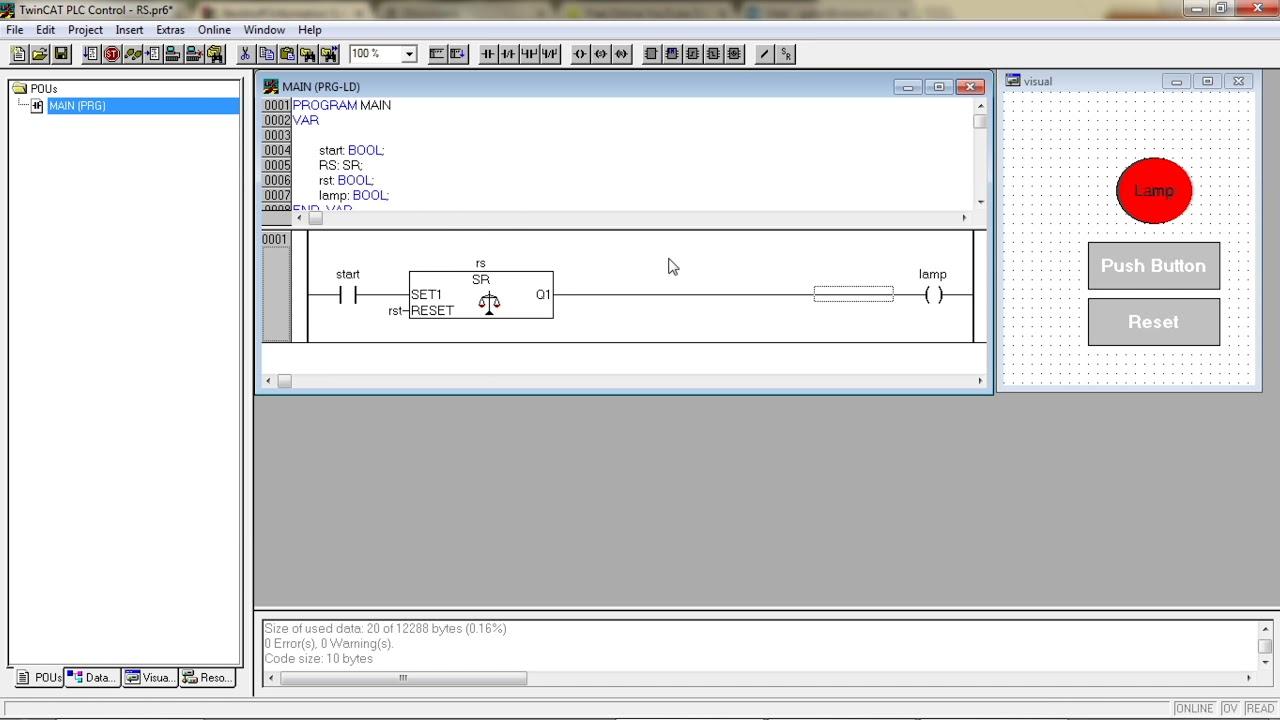 Beckhoff plc & hmi training panel (cx9020 & cp6606) – asti automation.