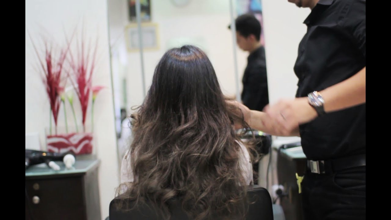 Hair Transformation Dark Silver Highlights By Richflor Youtube
