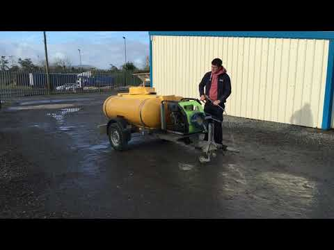 2013-TRAILER ENGINEERING FAST TOW POWER WASHER