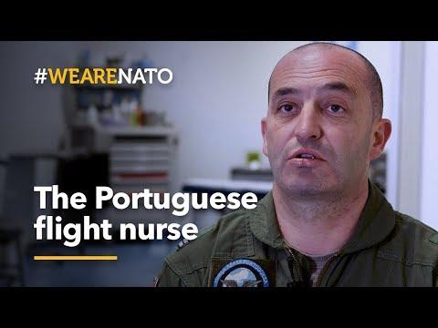 The Portuguese flight nurse - #WeAreNATO Mp3