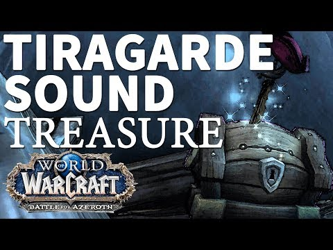 Fading Treasure Map Tiragarde Sound WoW BfA