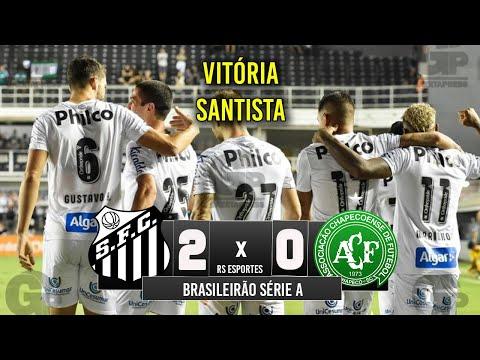 SHOW DO ALVINEGRO ! Santos 2 x 0 Chapecoense - Melhores Momentos (COMPLETO) - Brasileirão 2019
