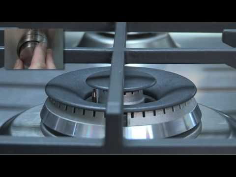 F&P GAS CookTopDisplay