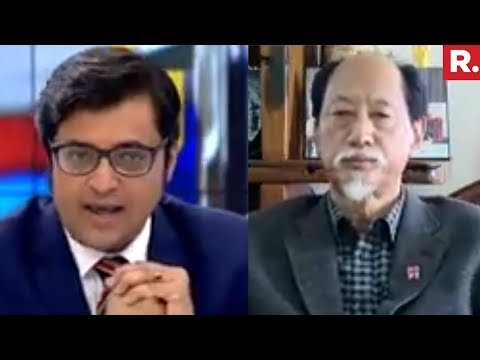 Former CM of Nagaland Neiphiu Rio Speaks To Arnab Goswami | North East Elections 2018