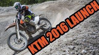 KTM 2016 Launch & Electric Supermoto in Austria!