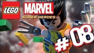 LEGO MARVEL Super Heroes [Deutsch] #008 - Ryker Island, THE RAFT - Lets Play