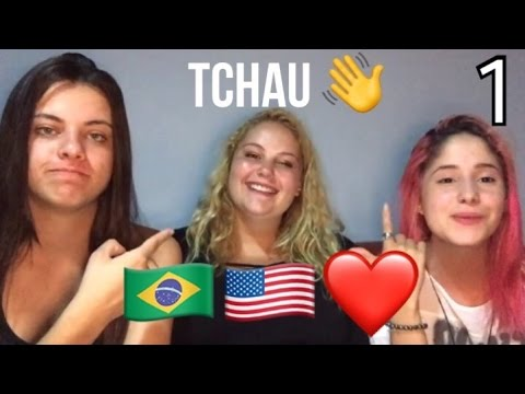 INTERCÂMBIO 1 ANO NO BRASIL - relato da americana | Parte 1