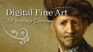 Digital Fine Art Painting Channel (Channel Trailer) - Michael Adamidis Art -