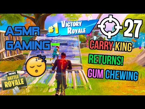 asmr-gaming-😴-fortnite-carry-king-returns!-relaxing-gum-chewing-🎧🎮-controller-sounds-+-whispering-💤