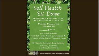 Soil Health Sit Down   December 16, 2020