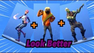 Top 100 FORTNITE DANCES EMOTES LOOKS BETTER WITH THESE SKINS! #2 Fortnite Battle Royale