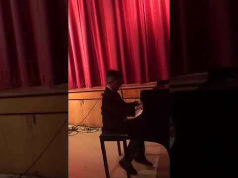 The Most Music School - Hector Mendez - Mozart Piano Sonata in C Major