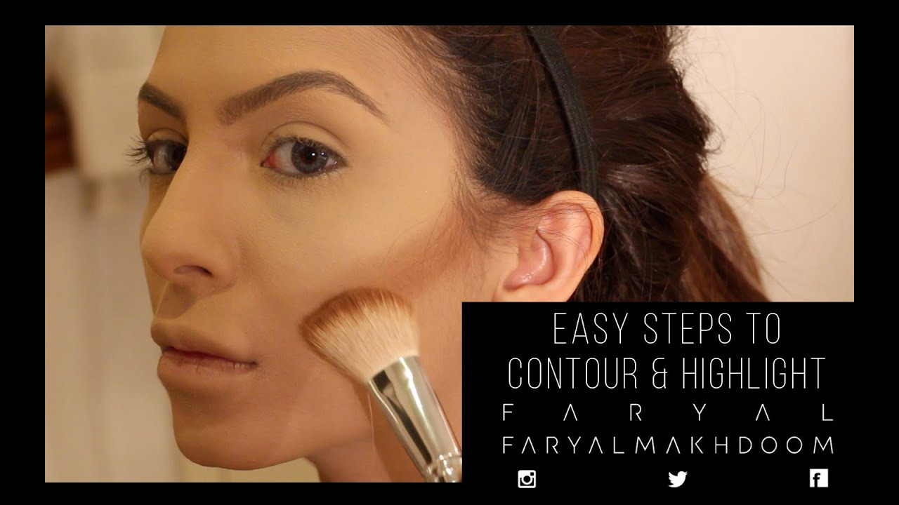 Simple Steps to Highlight & Contour - YouTube