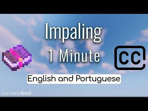 Para que serve o encantamento Penetração no Minecraft/ Impaling? CC LEGENDAS