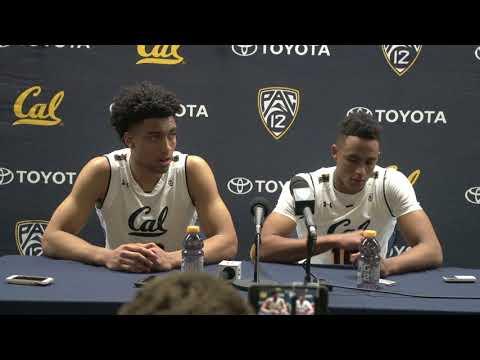 Cal Men's Basketball: Justice Sueing & Roman Davis (2/22/18)