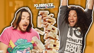 10 Minute Power Hour - Dare Jenga