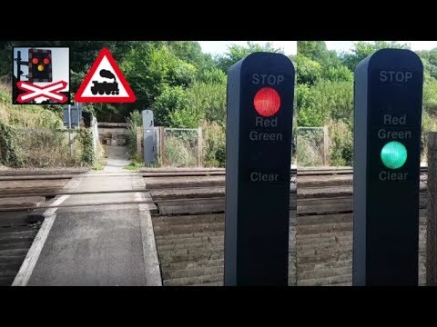 Pebble Lane (Footpath) Level Crossing, Kent (06/07/2017)