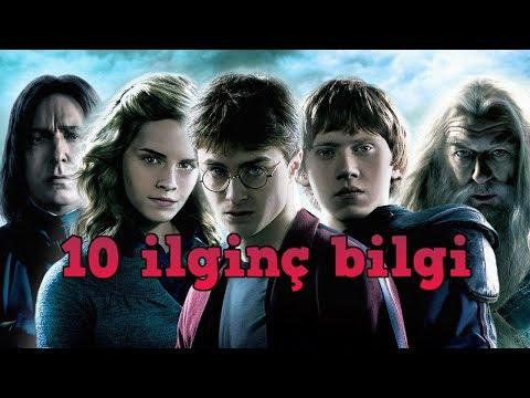 Harry Potter Hakkında Az Bilinen 10 Bilgi !
