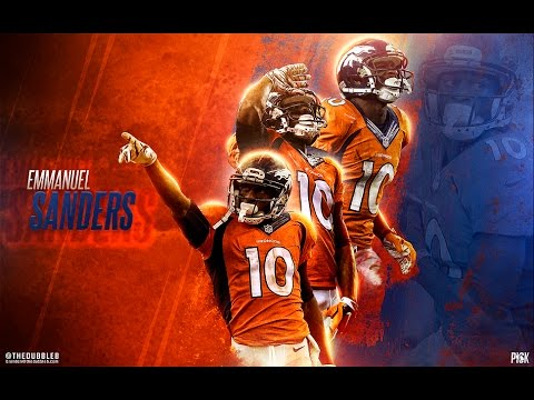 Emmanuel Sanders Highlights 2015-2016|| On my Grind||