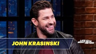 John Krasinski Performed in Chris Hayes' College Production of Die Hard: The Musical