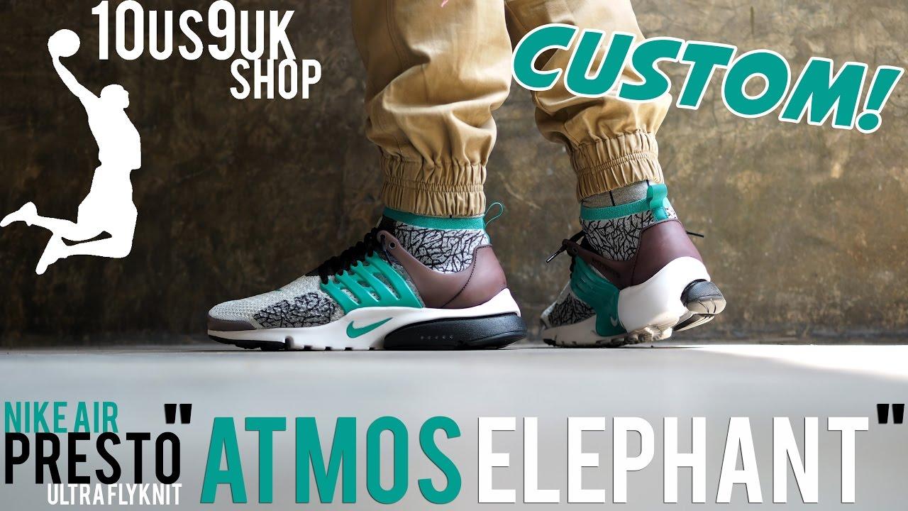 42215448cb3  Custom  Nike air Presto ultra Flyknit