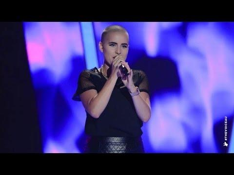 Sarsha Simone Sings No More Drama  The Voice Australia 2014