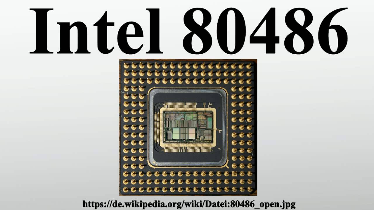 List of Synonyms and Antonyms of the Word: Intel 486