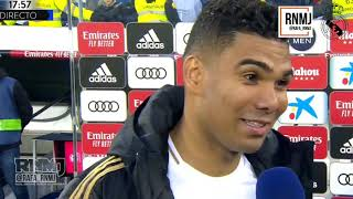 Declaraciones de CASEMIRO post Real Madrid 2-1 Sevilla (18/01/2020)