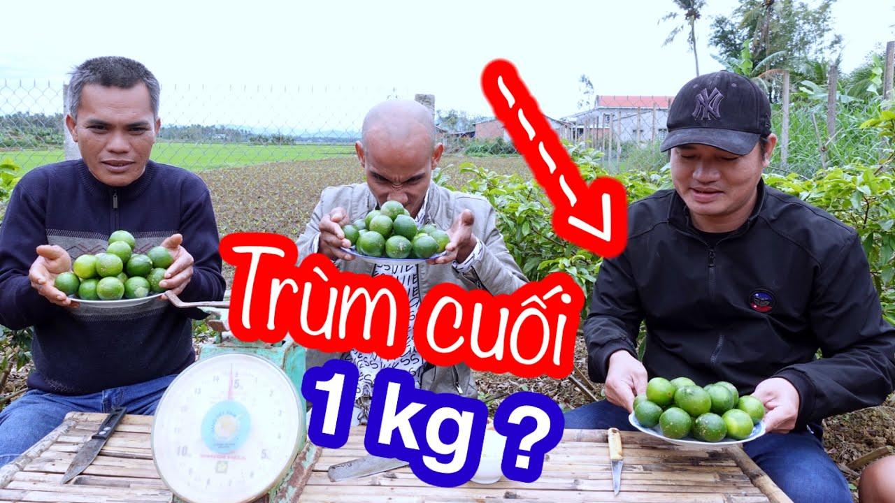 Thi Ăn 1kg Chanh Siêu Chua Cấp Độ 7 | Son Duoc Vlogs