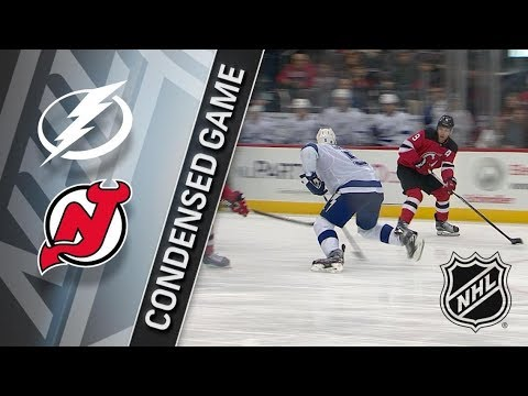 Tampa Bay Lightning vs New Jersey Devils – Mar. 24, 2018 | Game Highlights | NHL 2017/18. Обзор