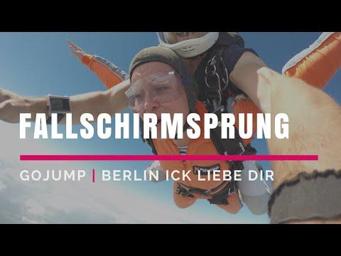 Berlin - GoJump - Fallschirmsprung - 4000 M - Gransee