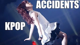 12 minutes of kpop accidents and funny moments