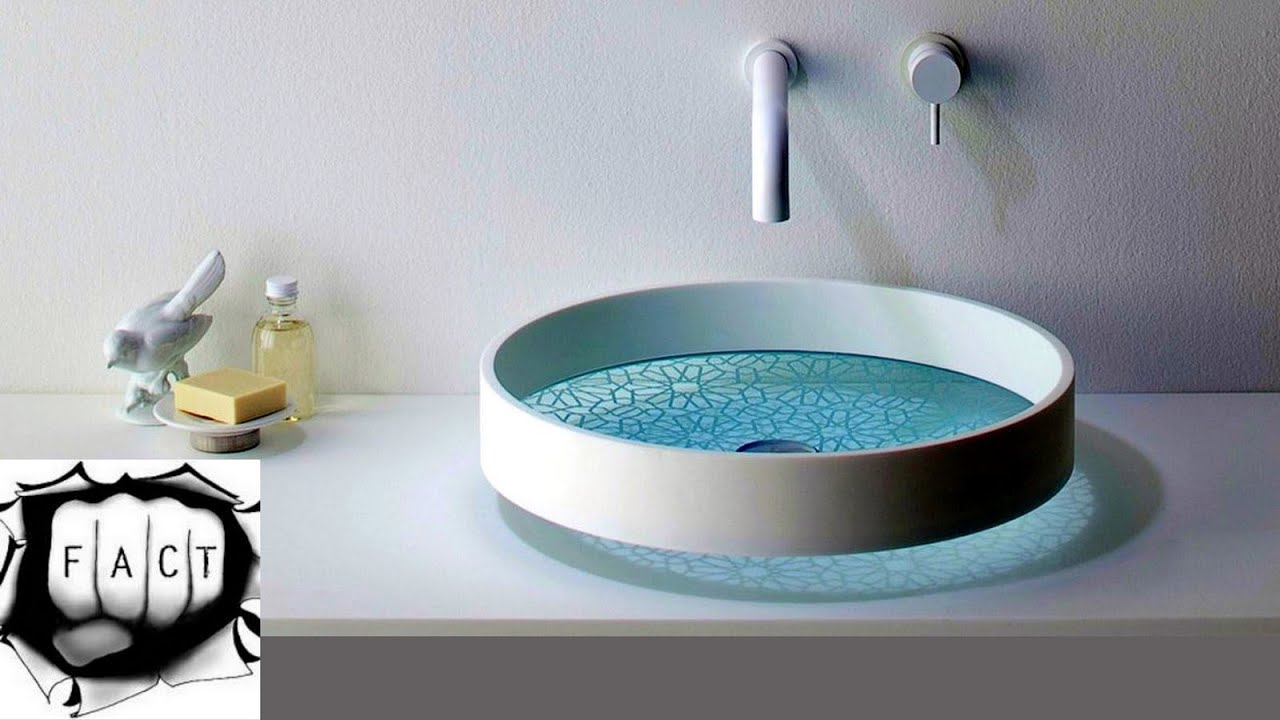 10 Most Outstanding Sink Designs - YouTube