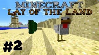 Minecraft: Lay of the Land - 2 - Pyramiidin tutkimista!