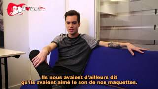 Brendon Urie from Panic! At The Disco on Rock'n'Live