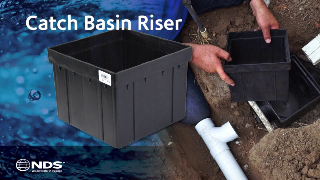 Nds Catch Basin Riser Installed Youtube