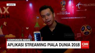 Aplikasi Streaming Piala Dunia 2018