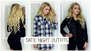 3 Simple Date Night Outfits / Petite Lookbook