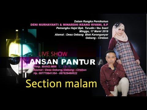 ANSAN PANTURA Live Streaming. Gebang, 17 Maret 2019