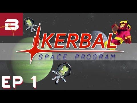 Kerbal Space Program - Ep 1 - Biffa Space Agency (Career Gameplay)