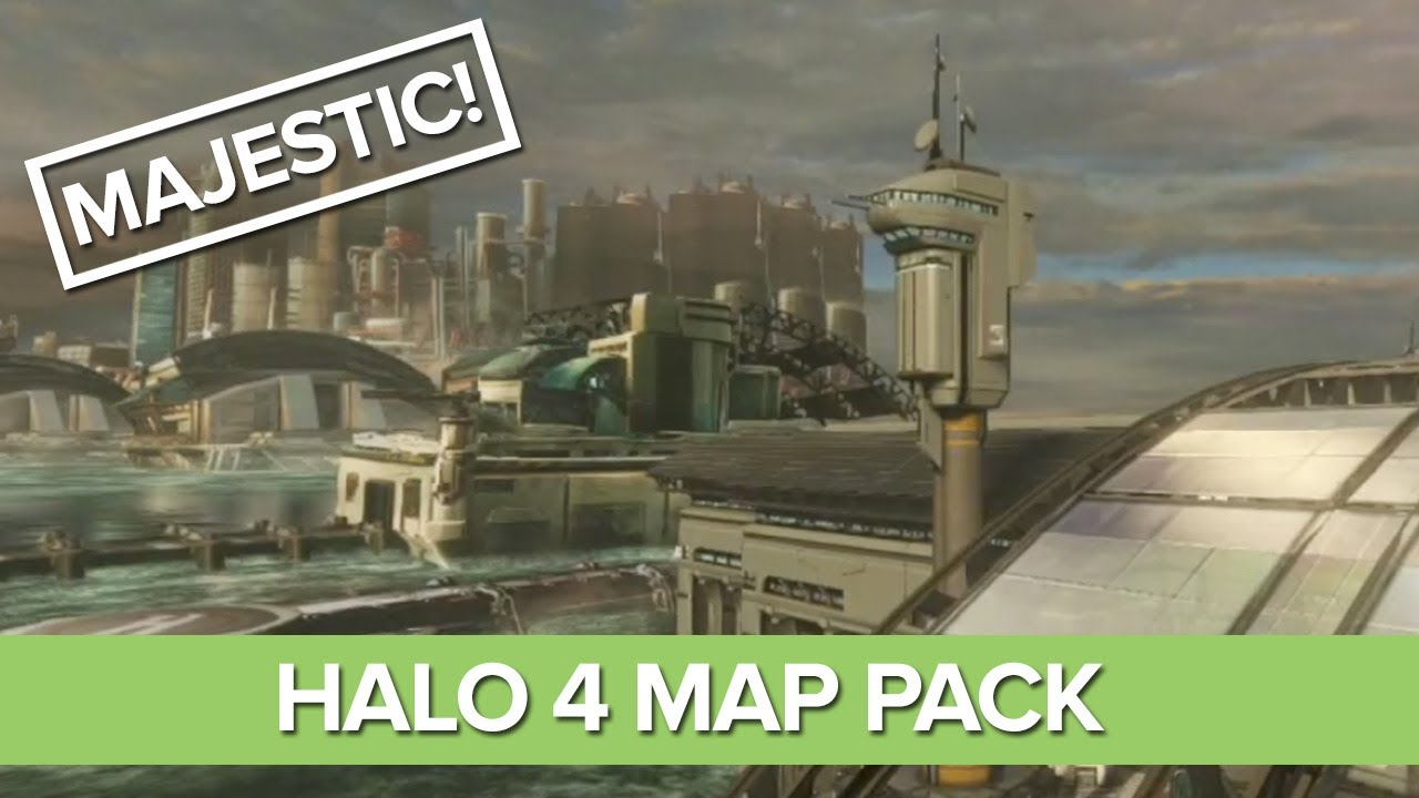 Halo 4 Majestic Map Pack Skyline Monolith Landfall Youtube