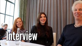 Apple TV+ SERVANT: Lauren Ambrose, Nell Tiger Free, Tony Basgallop INTERVIEW