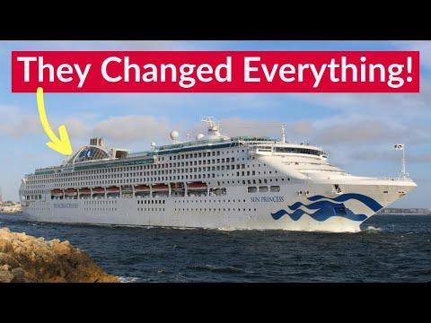 The ships that TRANSFORMED Princess Cruises - Farewell Sun Princess & Sea Princess.