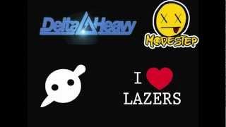 Knife Party, Delta Heavy & Modestep | Lazerstep | (Mini Mix No. 1)