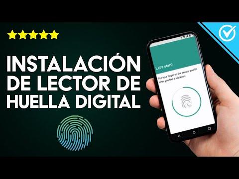 Cómo Descargar e Instalar y Configurar un Lector de Huellas Digitales en mi Dispositivo de Android