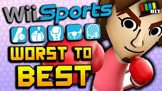 Ranking Wii Sports from Worst to Best [TetraBitGaming]